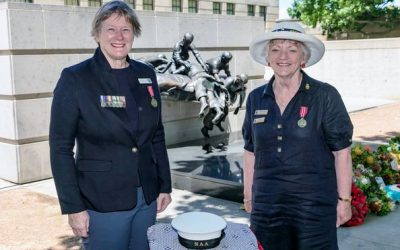 Naval Commemoration Ceremony at the Australian War Memorial
